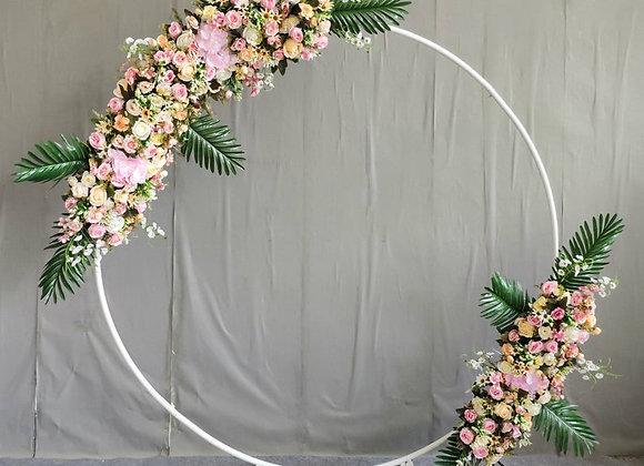White Circle Arch