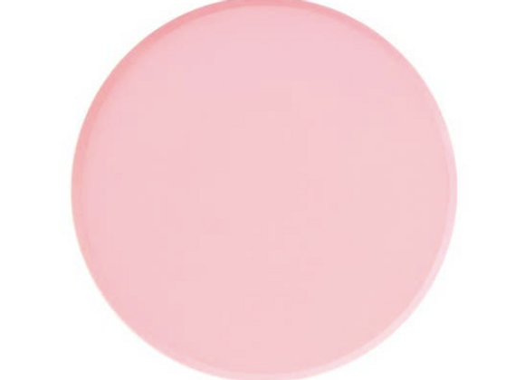 rose round plates
