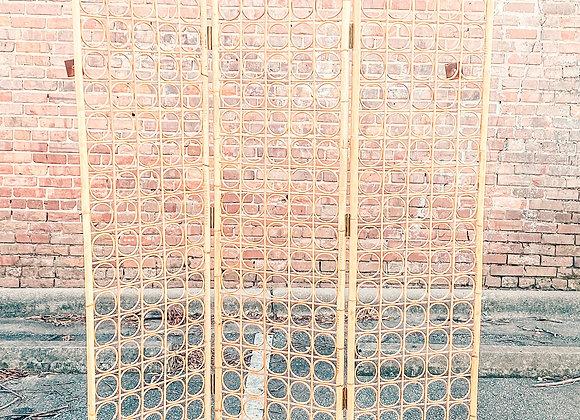 Wicker Divider Backdrop