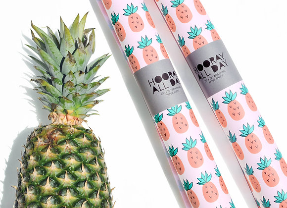 Pineapple Wrapping Paper Sheet