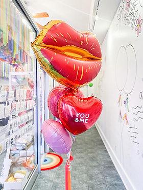 Kiss me Balloon Bundle