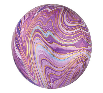 Purple Marble Orbz