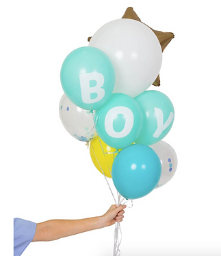 baby boy balloon pack