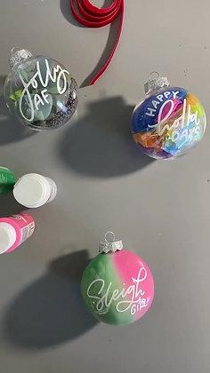 stuff your custom ornament