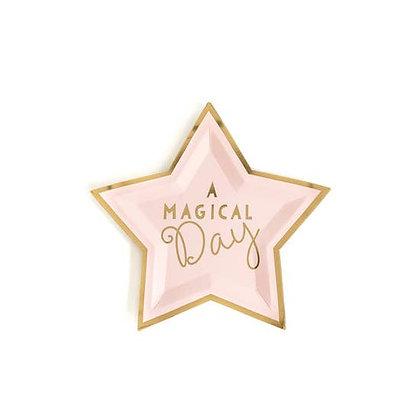 "Magical Star 7"" Plates"