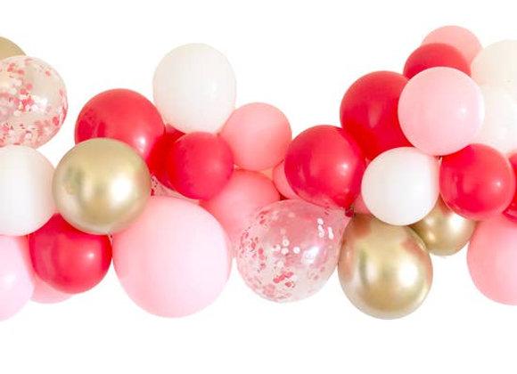 Candy Cane Balloon Garland