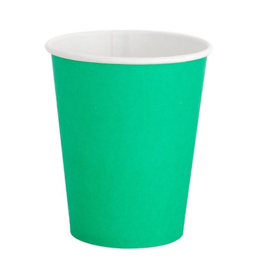 Kelly Green 9 oz Cups