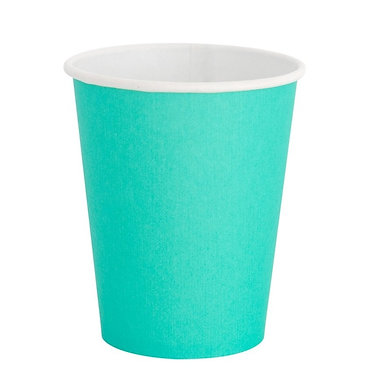 Teal Cup 9 oz Cups