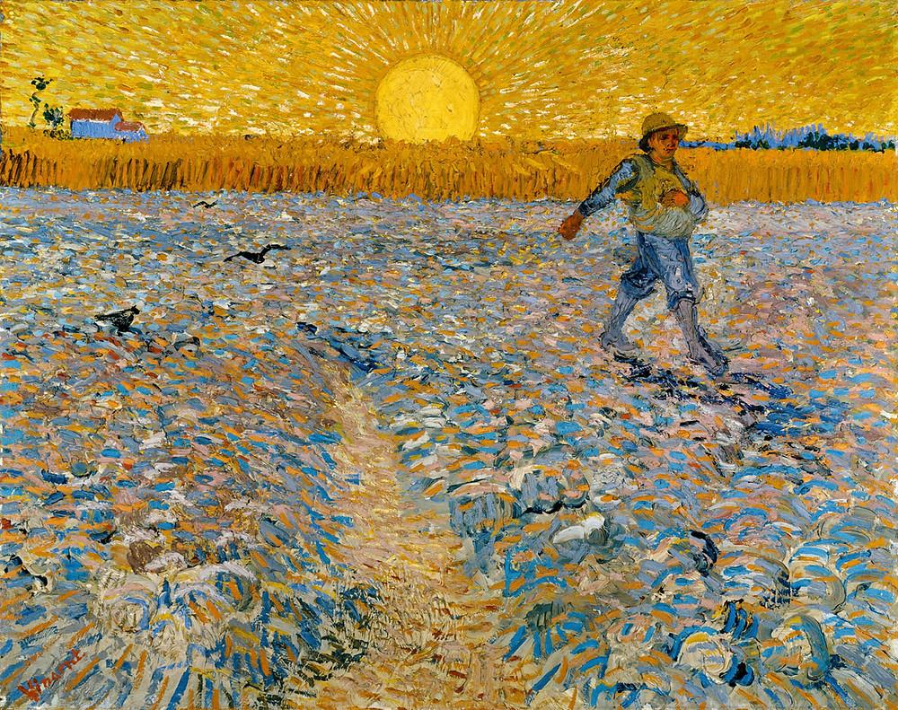 Vincent van Gogh, Il seminatore, 1888, olio su tela, cm 64,2 x 80,3