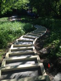Brick pavers (under construction / walkw
