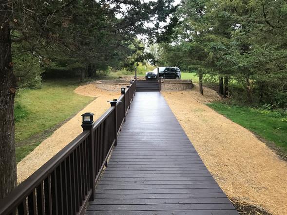 Trex walkway / steps / railing