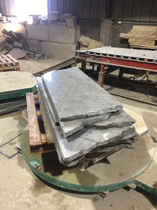Stormcloud sawed / sanded