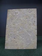 sandblasted panel