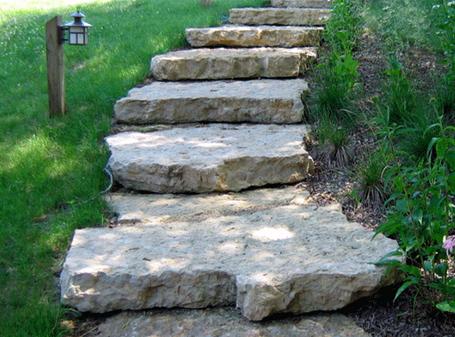 Galena quarry stone steps