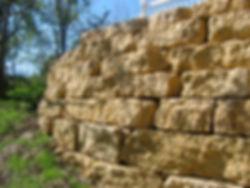 Galena Quarry Stone Wall