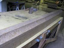 sawed corner