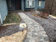 Brick pavers (walkway)