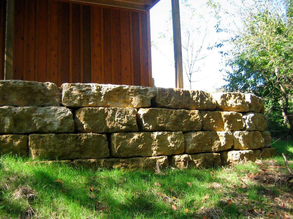 quarry stone wall