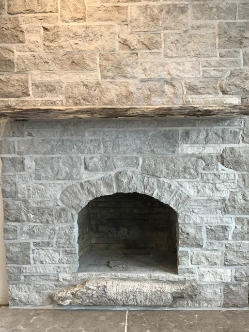stormcloud thin veneer fireplace