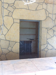 sawed web wall