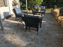 Brick pavers (patio)