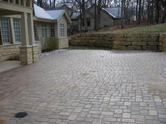 Brick pavers (courtyard)