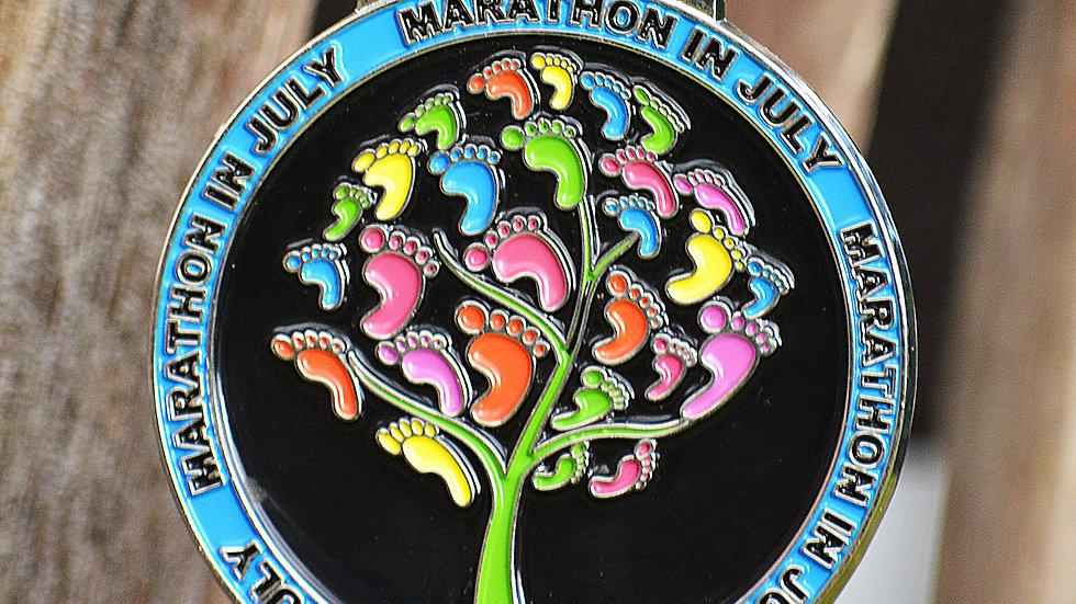 Marathon in July