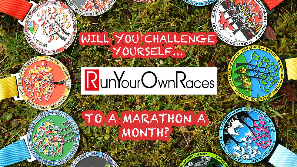 A Year of Marathons! Note that no additional discounts can be applied to this...