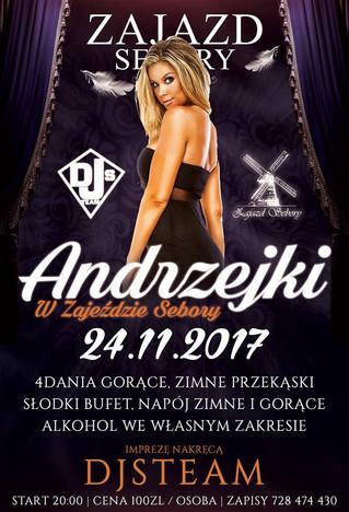 ANDRZEJKI 2017 -NIE MOŻE WAS ZABRAKNĄĆ!!