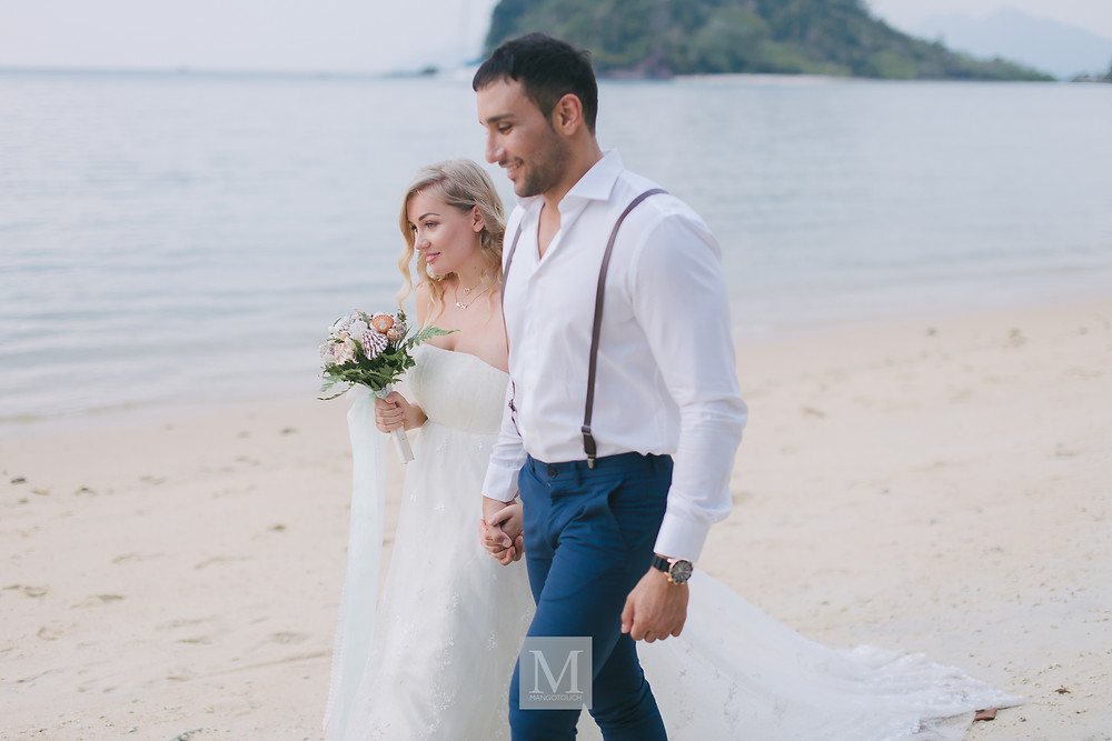 beach wedding Langkawi