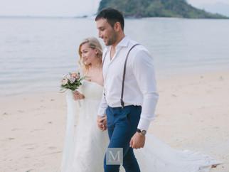 Beach Wedding - Bay of Promises.