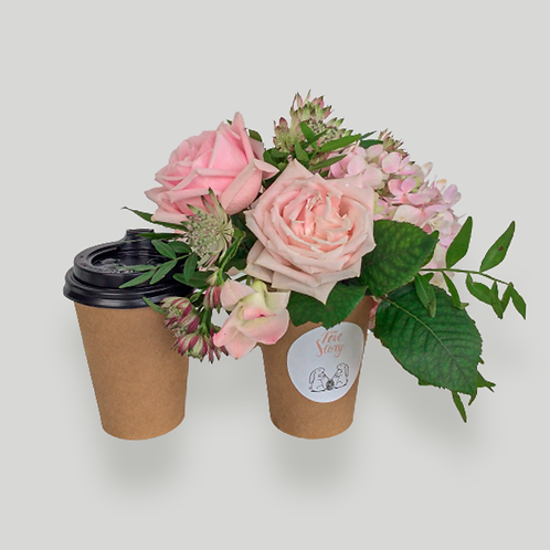 "COMBO  ""BETTER TOGETHER: COFFEE + FLOWERS"""