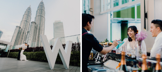 W Hotel, Wedding planner Midsummer Events, Photo @jackieyongphoto