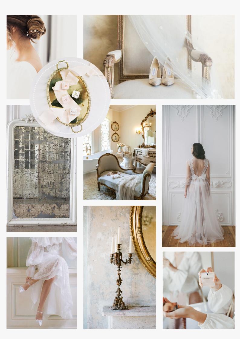 Classy bridal morning