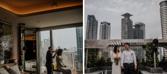 W Hotel, wedding planner Midsummer Events, Photo @ameirfikri