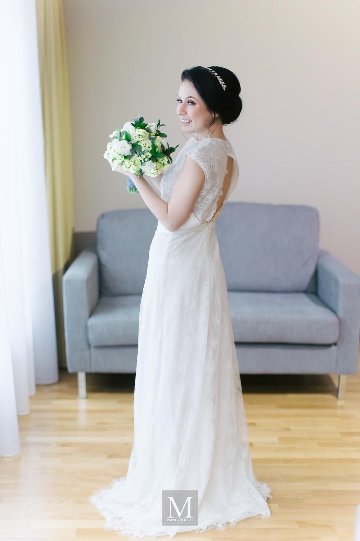 Wedding dress, Kuala Lumpur, Justin Yap. Photo Mangotouch