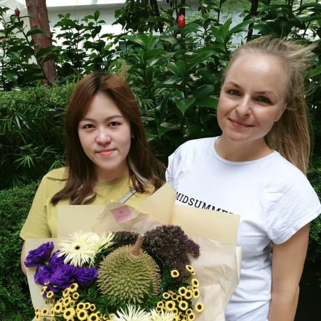 flower bouquet workshop Kuala Lumpur