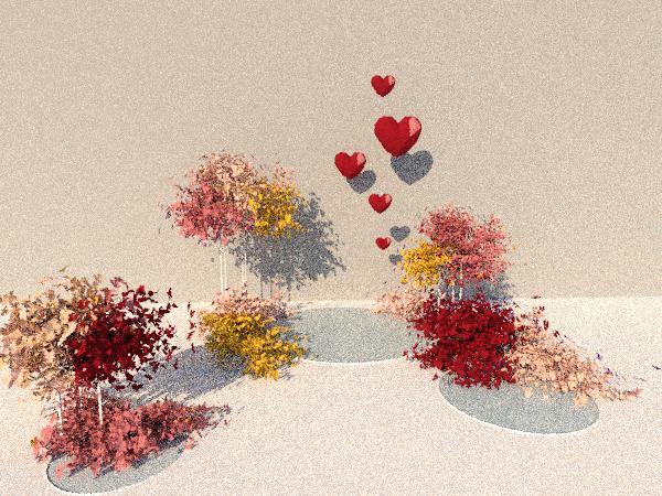 RENDER 3D LOVE FLORAL WORKSHOP MIDSUMMER EVENTS
