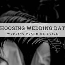 WEDDING DATE - Wedding planning guide