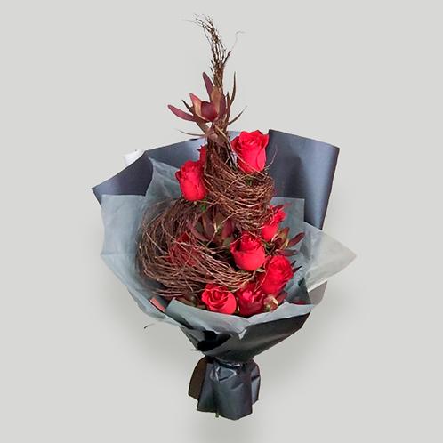 Man bouquet arrangement