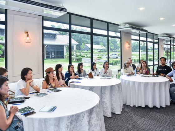Flower workshop with FlowerBazar & Moscow Flower School in Kuala Lumpur