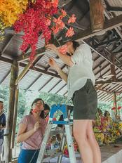 wedding decor workshop in Malaysia