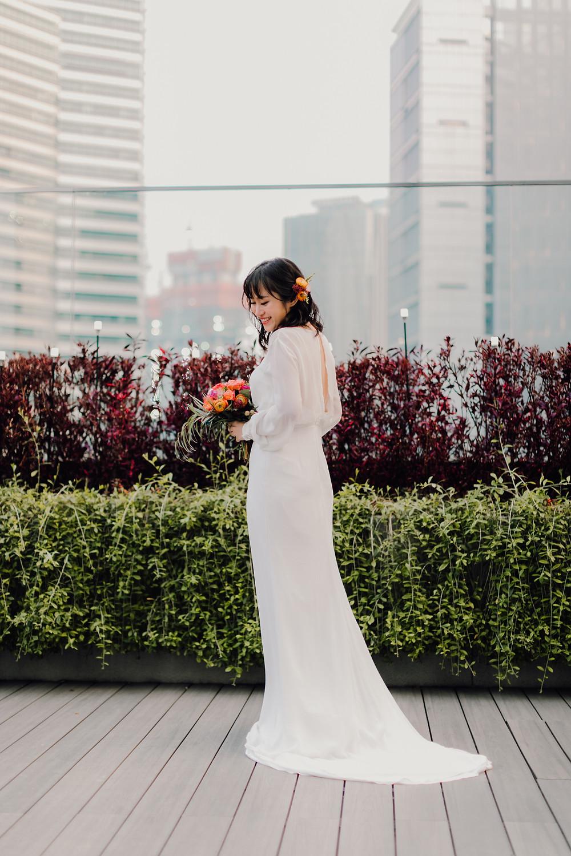 Wedding dress @onewedd , Photo @jackieyongphoto
