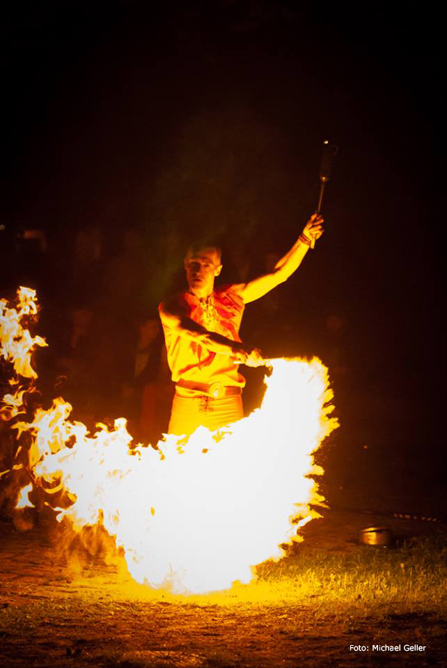 Feuershow Fritz Mack