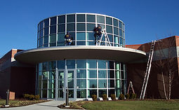 commercial new construction window cleaning highlight your business professionalism