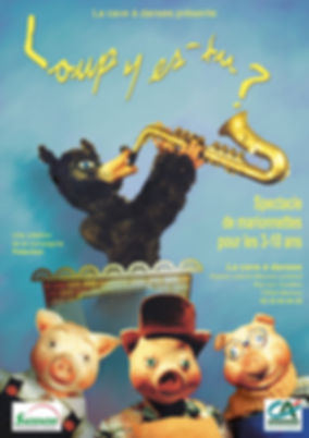 Loup y s-tu? Saxophone