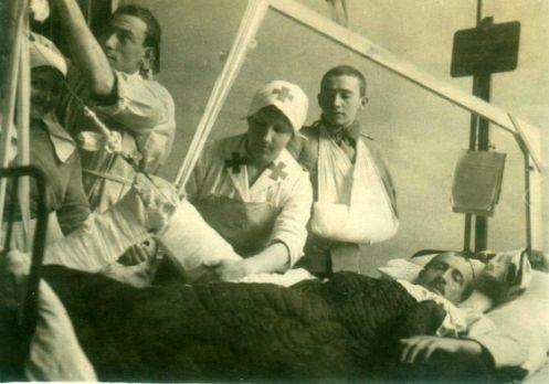 Bild Marxen im Militärkrankenhaus in Kra