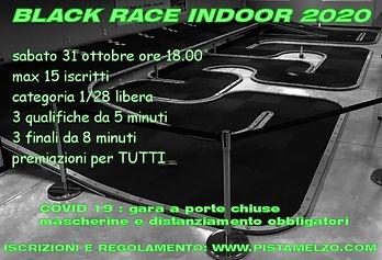 Black Race Indoor del 31-10-2020 - Locan