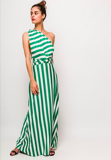 Stripe multiway dress