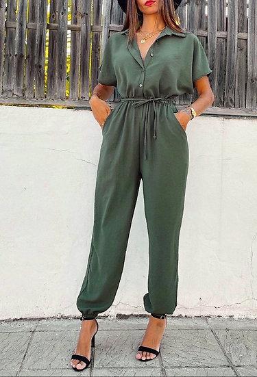 Button jumpsuit